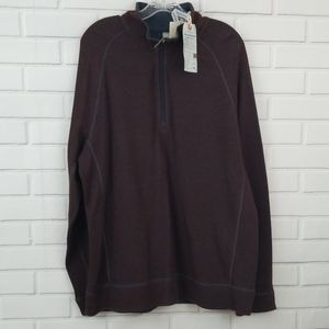 Tommy Bahama 1/2 Zip Reversible Pullover Sweater